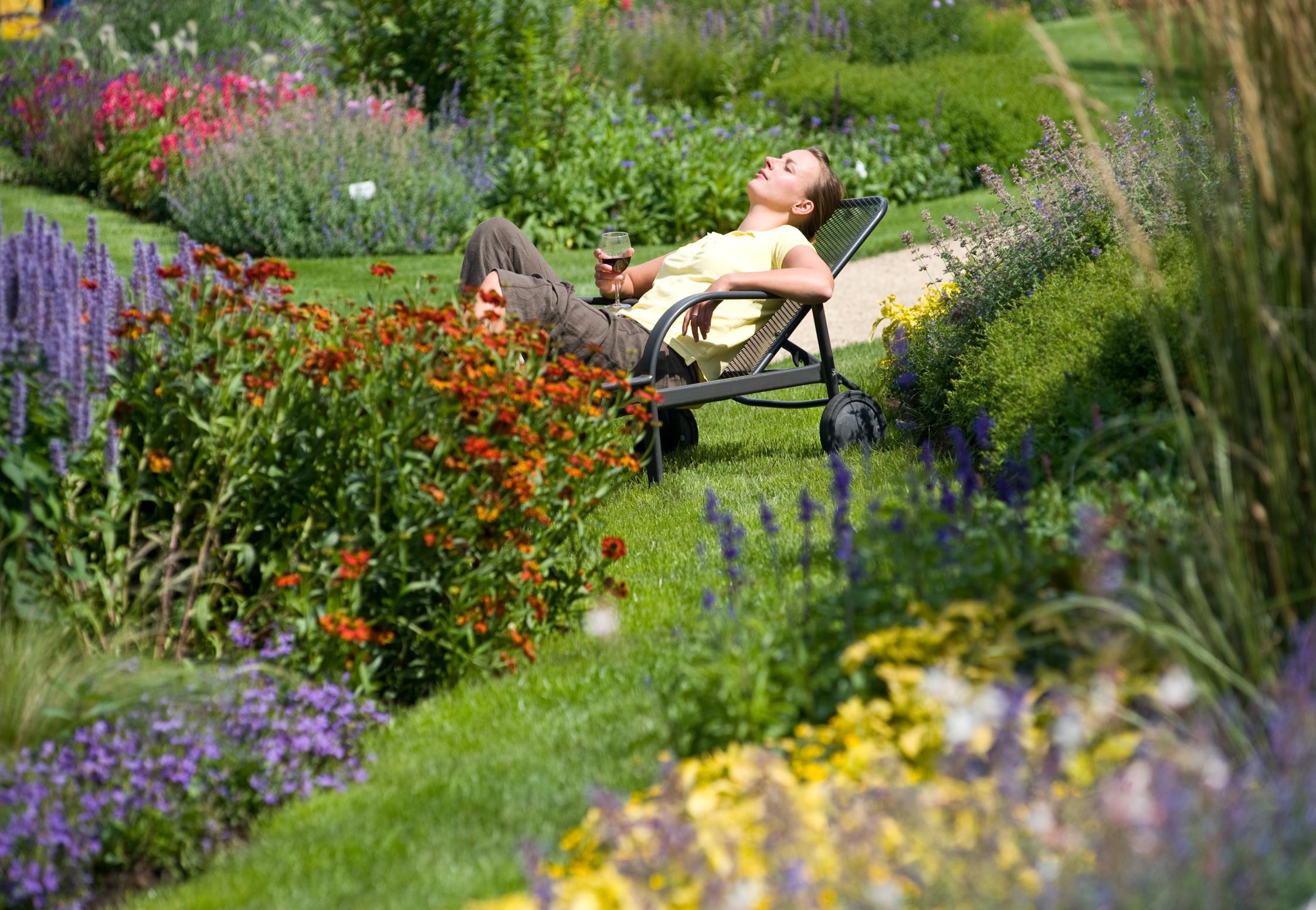 Paradiesische Zeiten – Relaxen im Garten