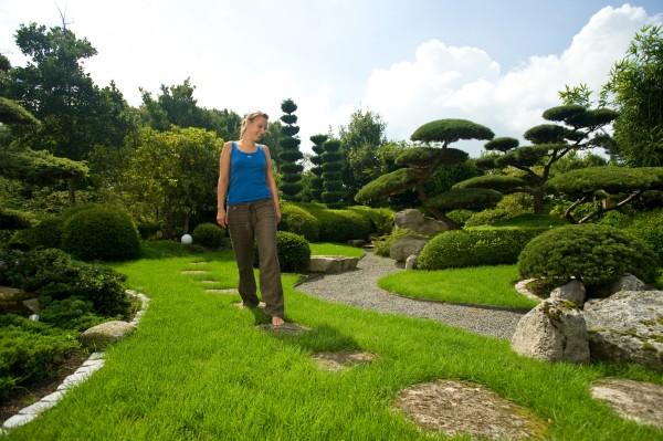 Im Grünen lustwandeln – über den Erho-lungsfaktor von Gärten und Parks