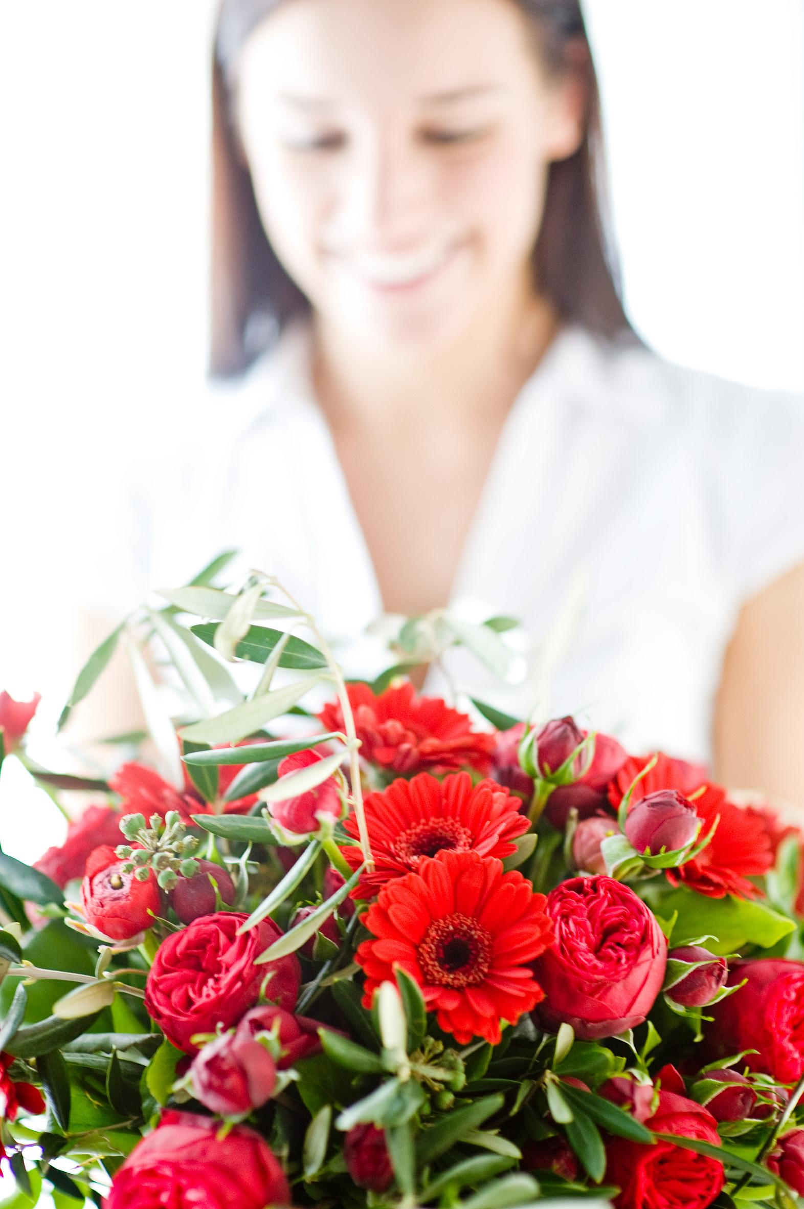 Am 8. März wird der Internationale Frauentag gefeiert: Blumen als Zeichen der Solidarität