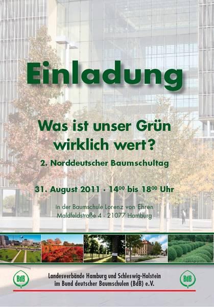Presseeinladung zum 2. Norddeutschen Baumschultag