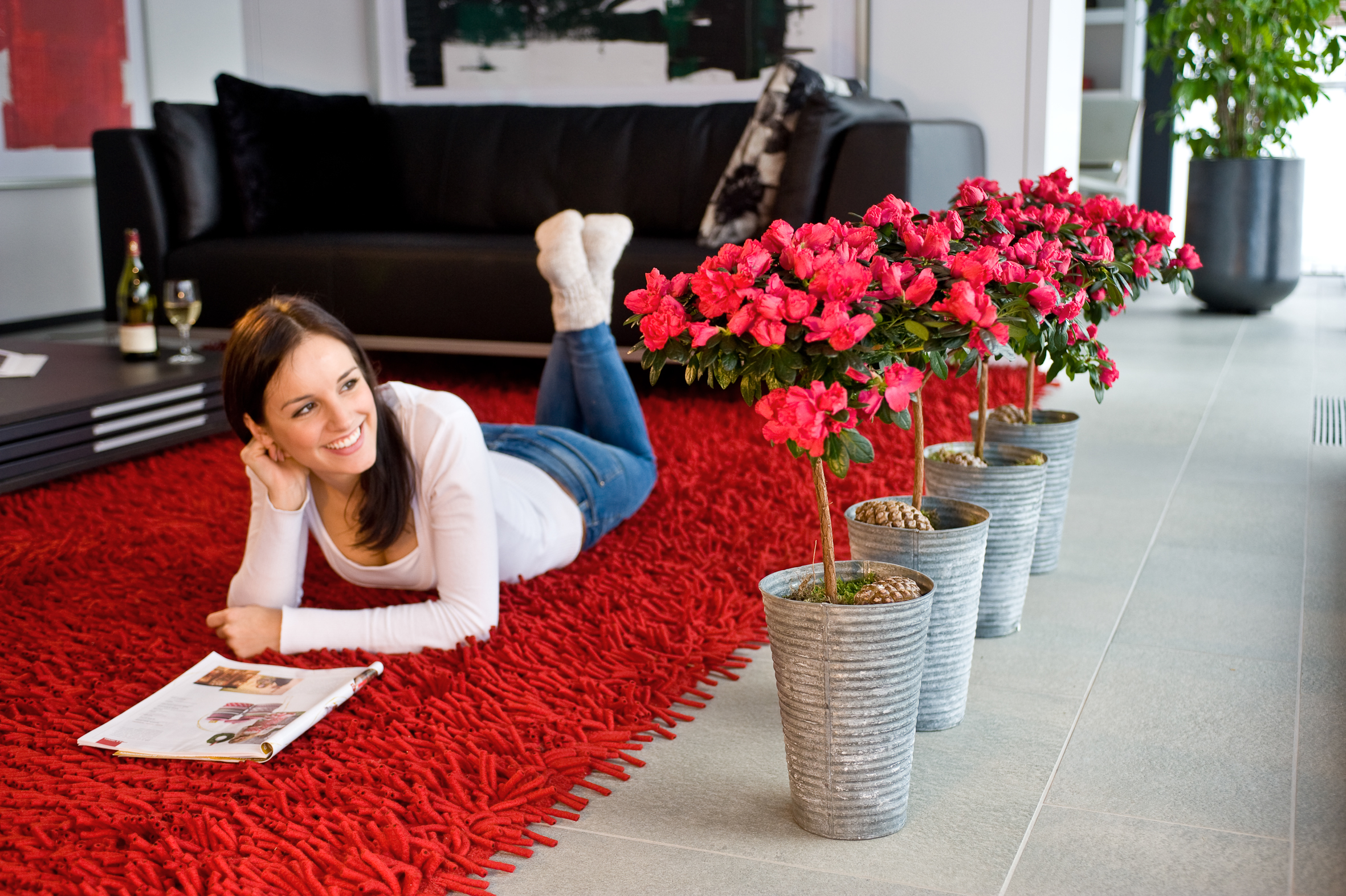 Entspannen mit Pflanzen