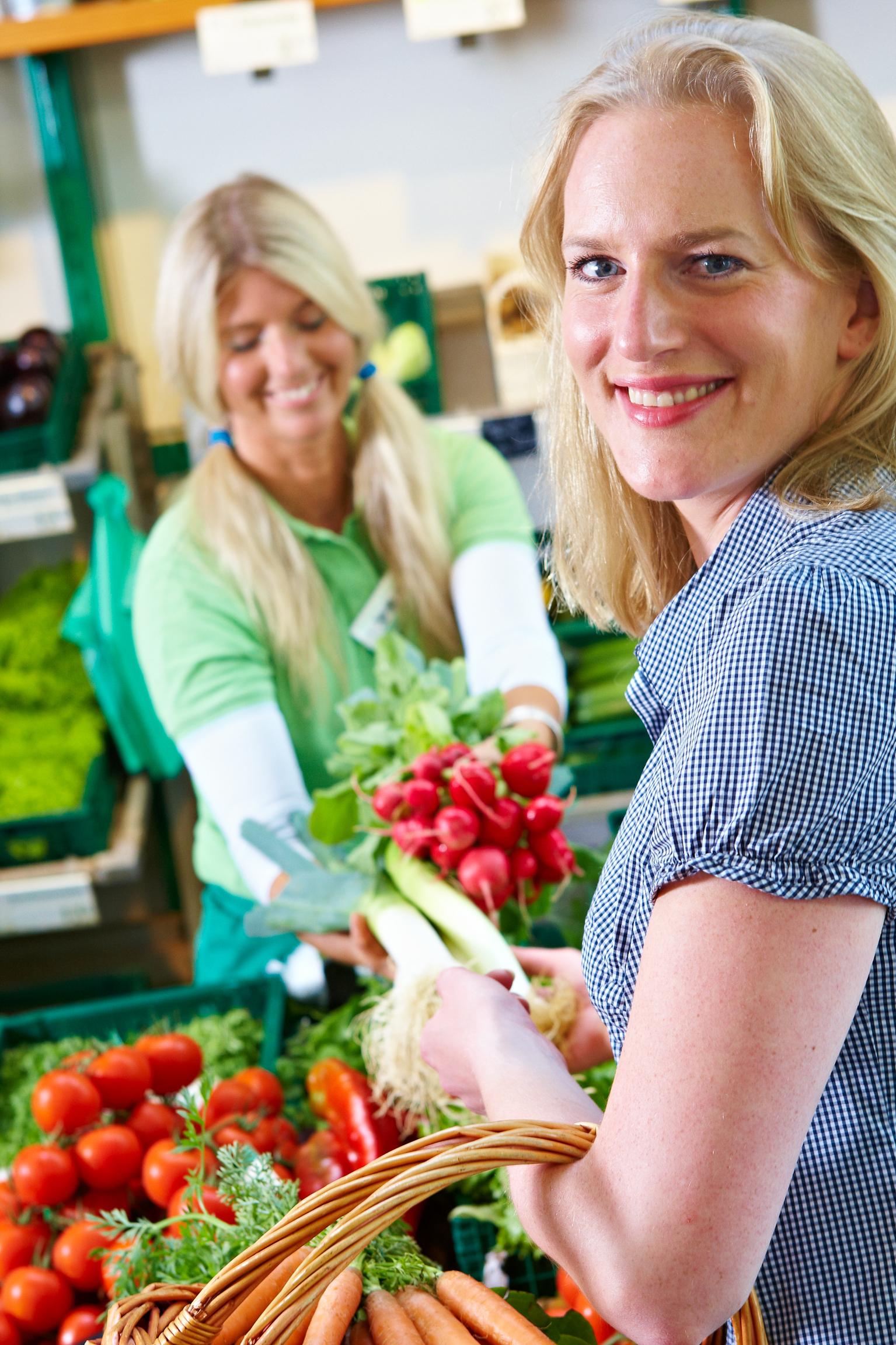 Beratung und Service pur – Gemüse aus der Region mit persönlichen Tipps