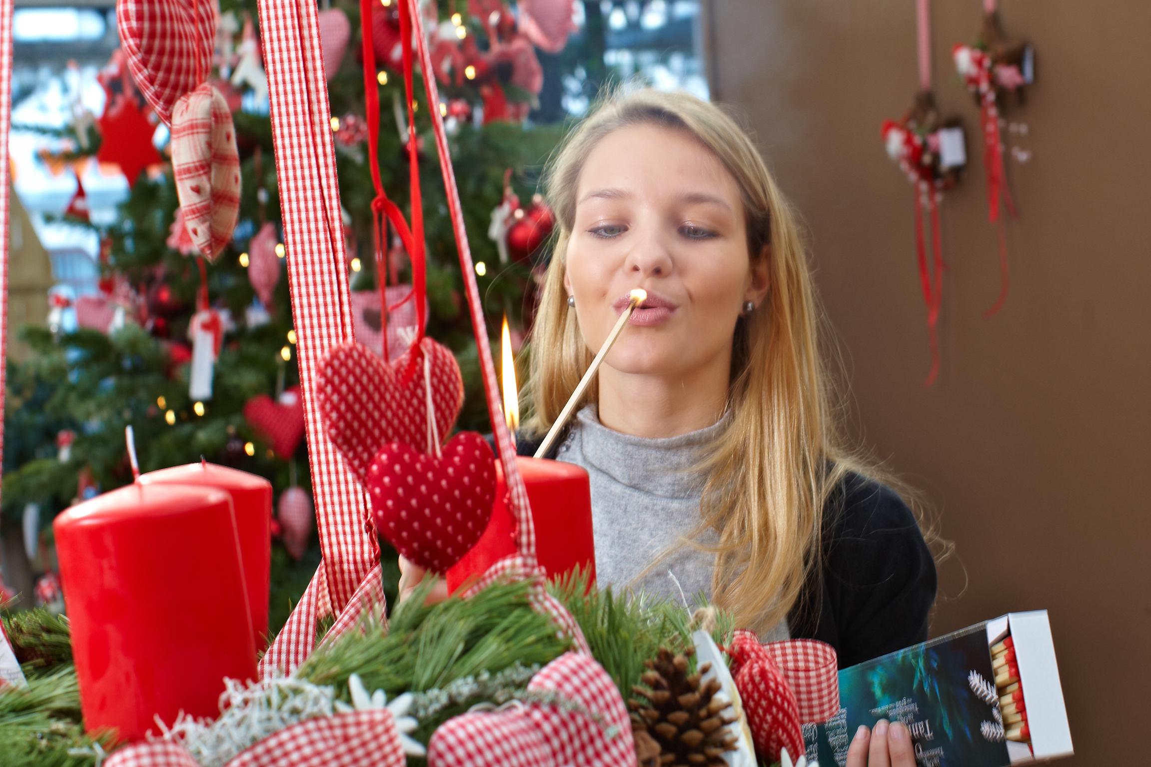 Advent, Advent, ein Lichtlein brennt – Ein Adventskranz sorgt in der Vorweihnachtszeit für besinnliche Stunden