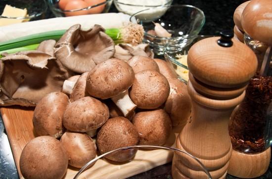 Den Tisch wohl gedeckt -– dank Pilzen