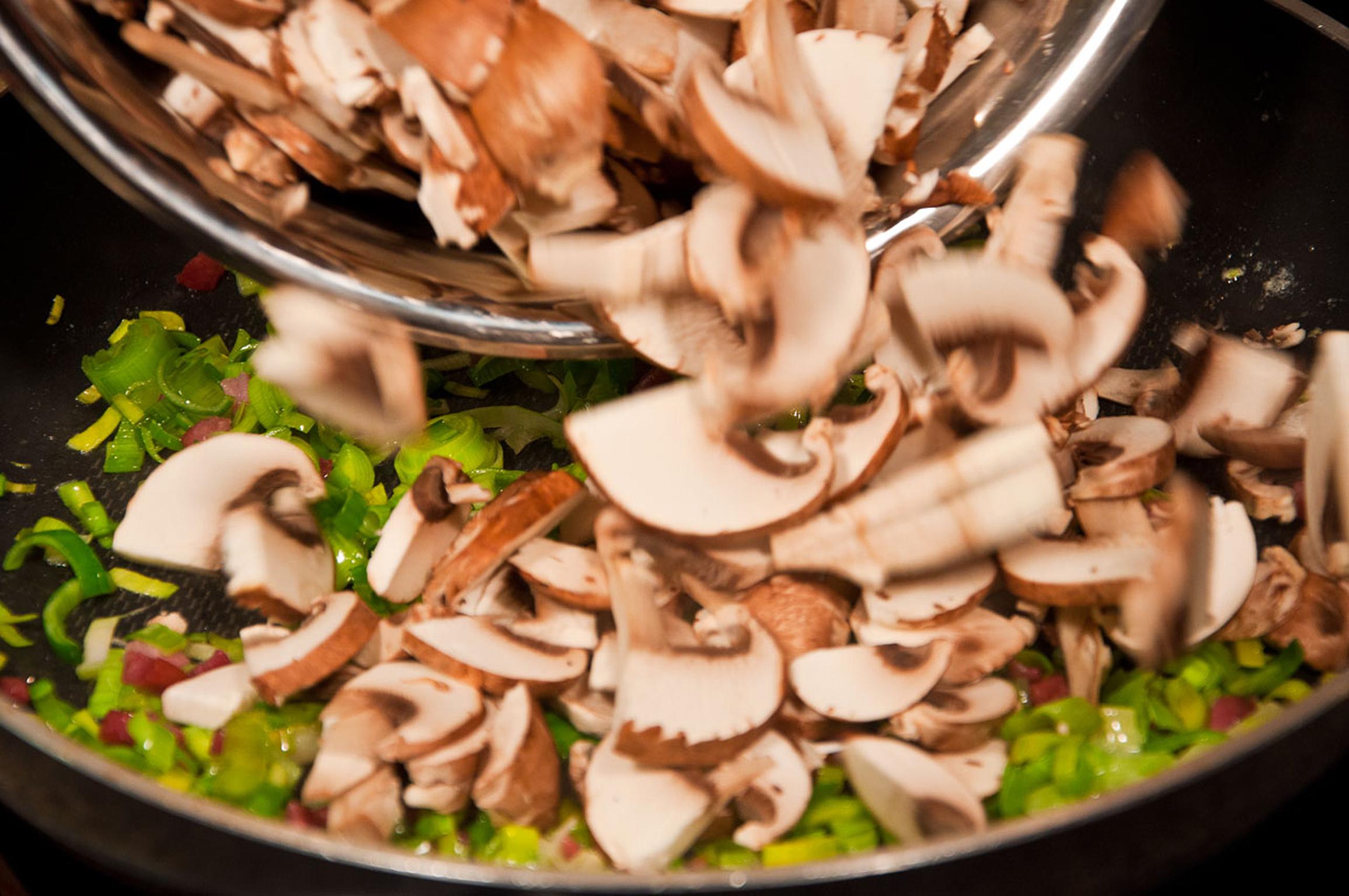 Kochen mit Pilzen – kinderleicht