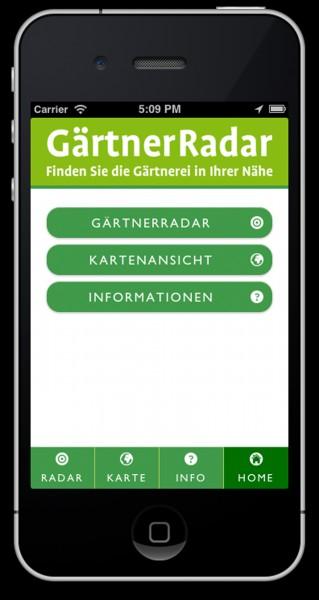 GärtnerRadar: Pfiffige App verhilft zu schönen Momenten