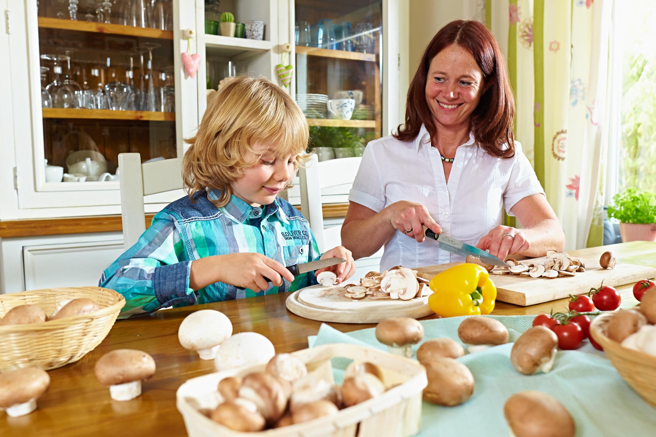 Hartnäckige Vorurteile übers Pilzeputzen