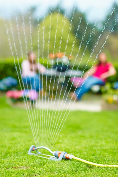 Wer richtig gießt spart Zeit und Wasser