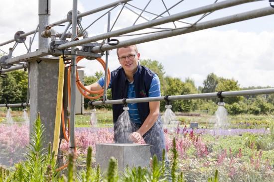 Natur pur und Pflanzenvielfalt - die Ausbildung zum Staudengärtner/in