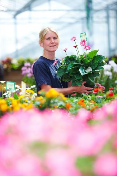 Gärtner verbessern das Wohlbefinden