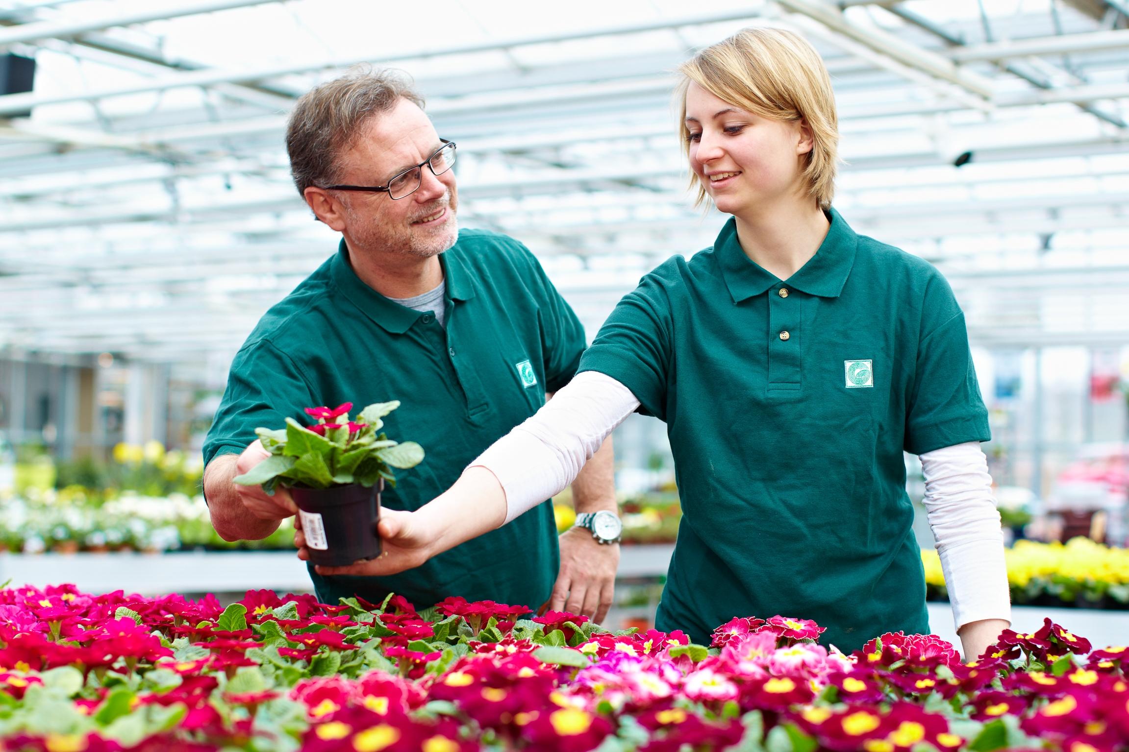 Engagierte Zierpflanzengärtner lassen es zu jeder Jahreszeit blühen