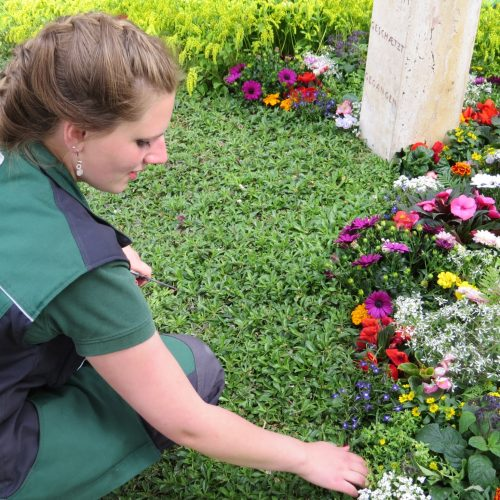 Friedhofsgärtner gestalten Friedhöfe - Orte der Ruhe