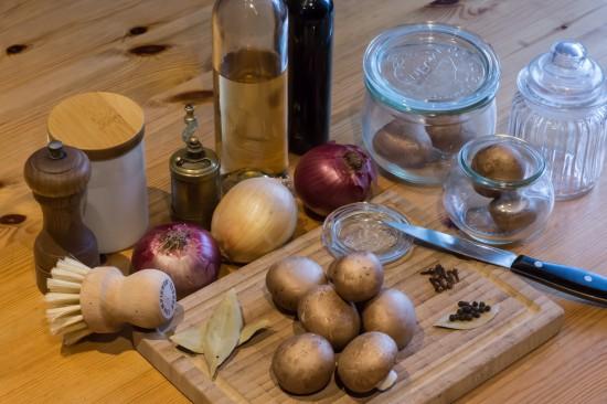 Essig-Pilze - Großmutters Pilzkonserve, noch immer lecker
