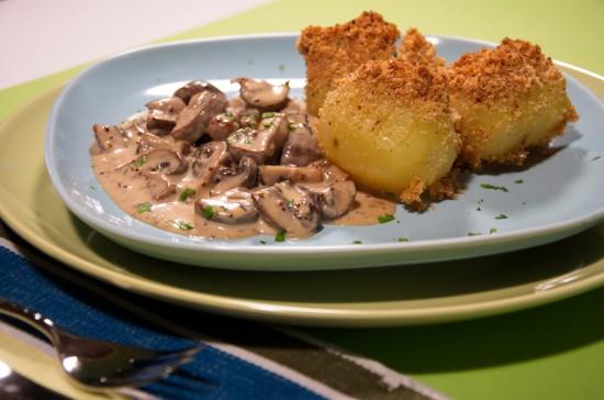 Die feine französische Champignonküche