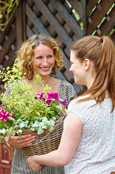 Echte Blüten stehen zum Muttertag am 8. Mai hoch im Kurs