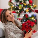 Lebendige Weihnachtsdekoration