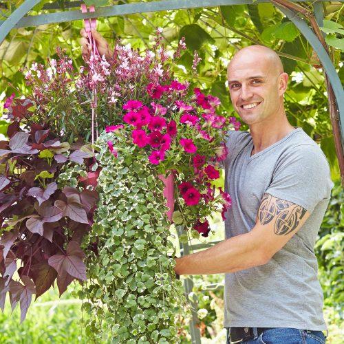 Hanging Baskets - prachtvolle Blütenkörbe fürs Freie