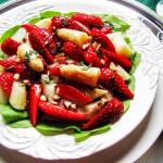 Frisches Spargelangebot und köstliche Beeren