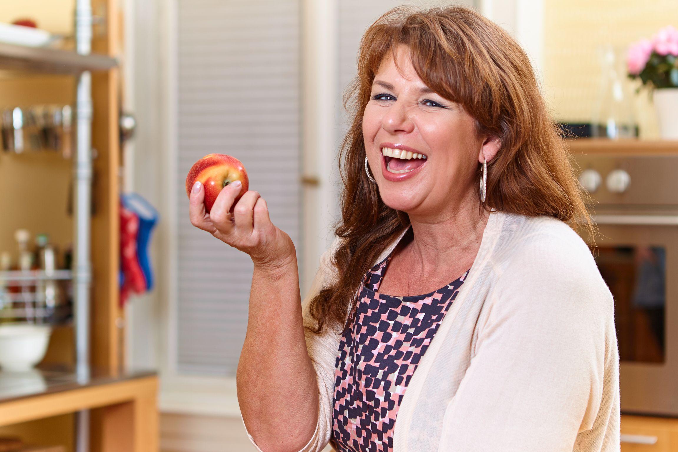 Fasten mit Äpfeln