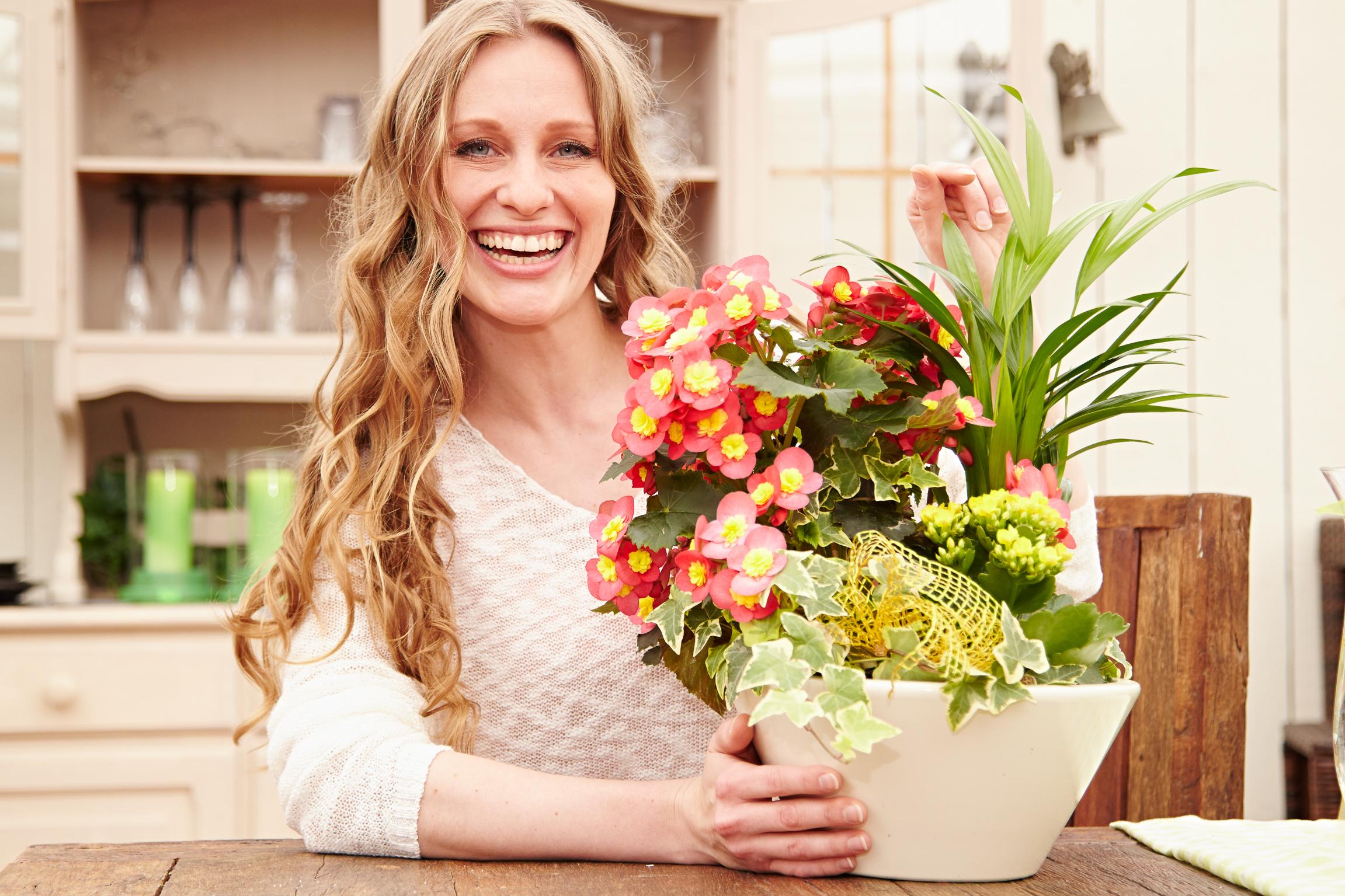 Lieblingsblumen zum Muttertag machen nachweislich glücklich