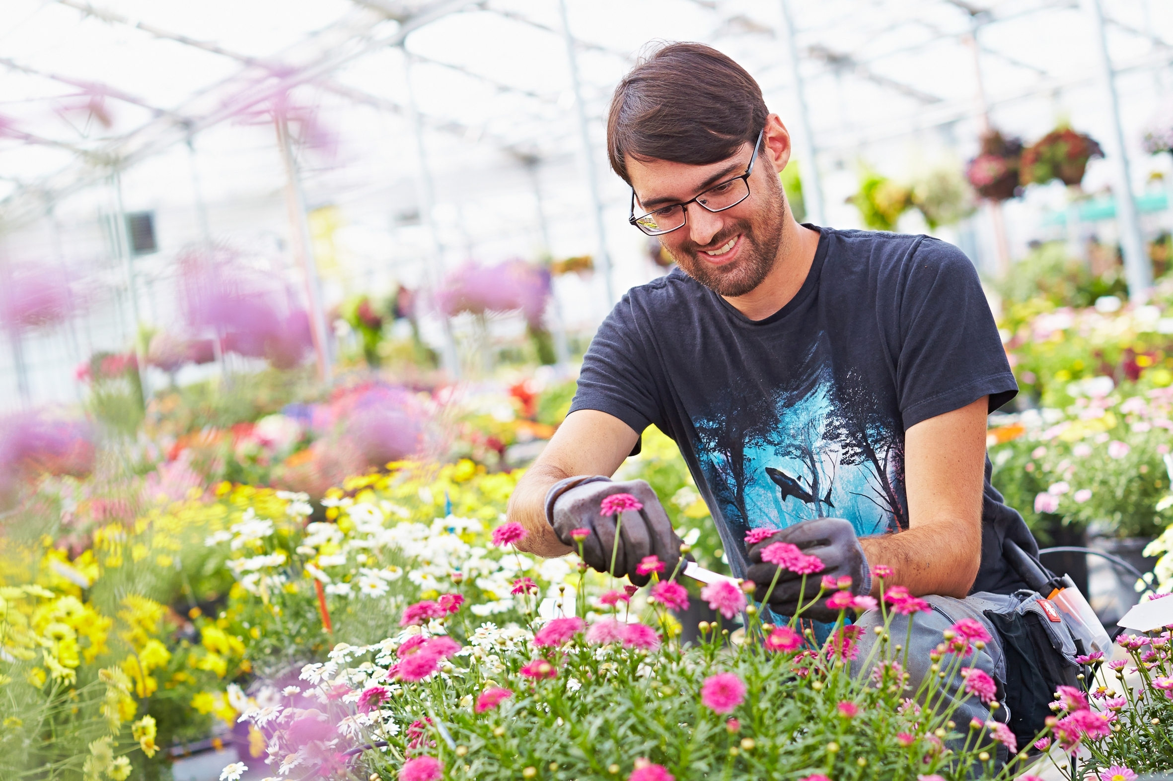 """""""Ich mach's dir schön!"""" – Beim Ausbildungsberuf Gärtner sind echte Akteure am Start"""
