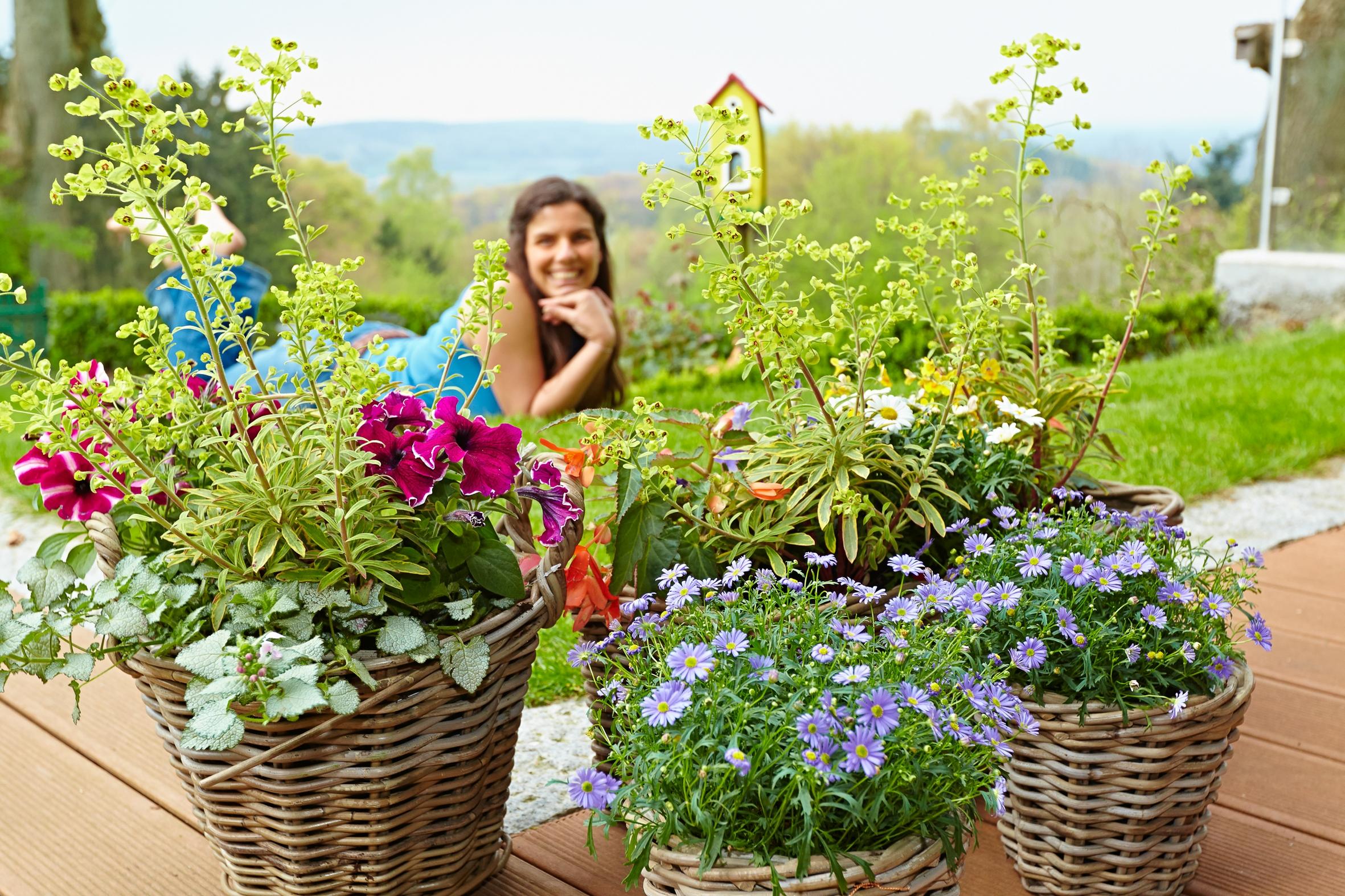Das Leben genießen – Sommerlich schöne Augenblicke im Garten und auf dem Balkon