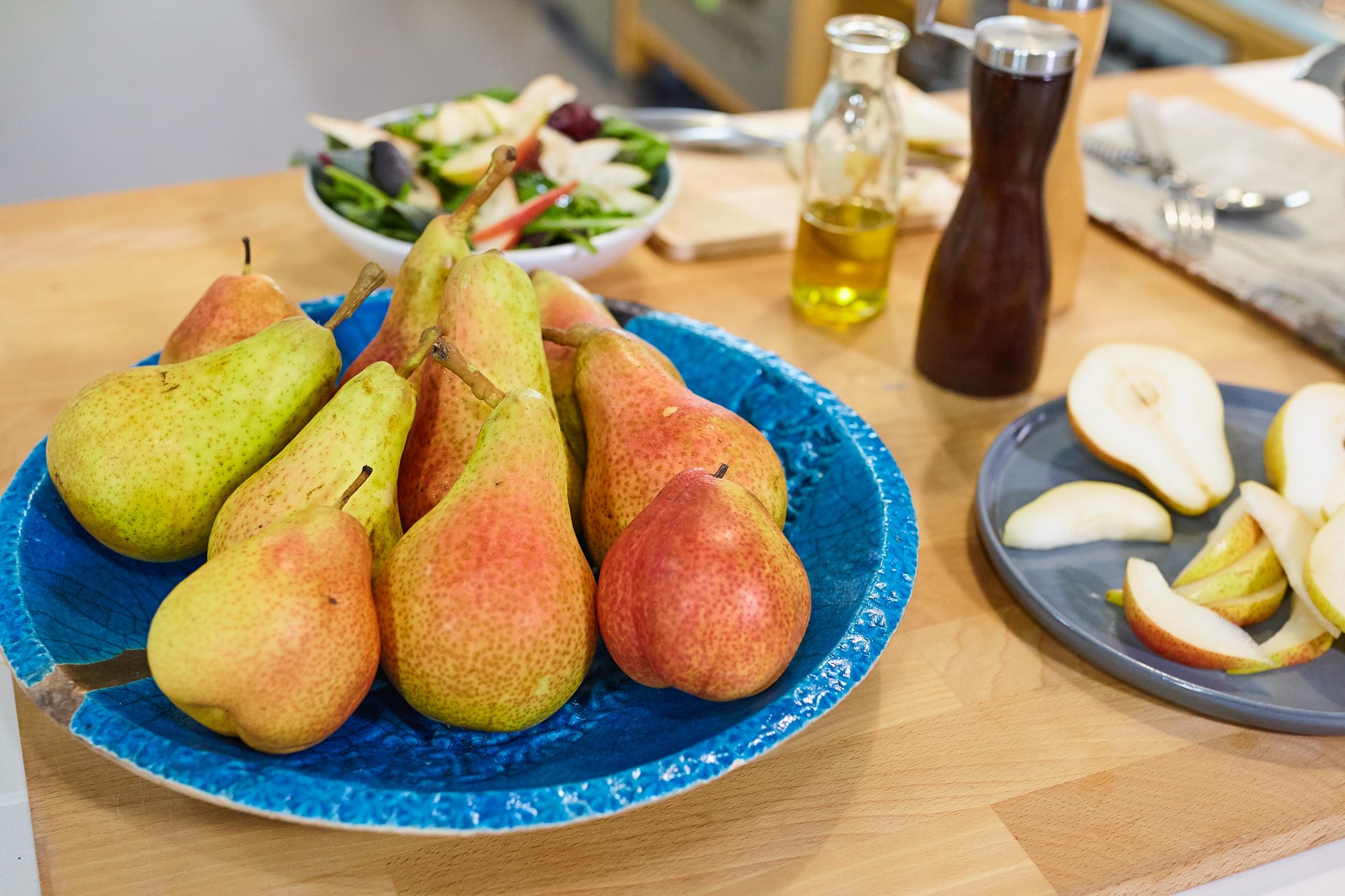 Jetzt heißt es zugreifen: Birnen aus deutschem Anbau sind reif