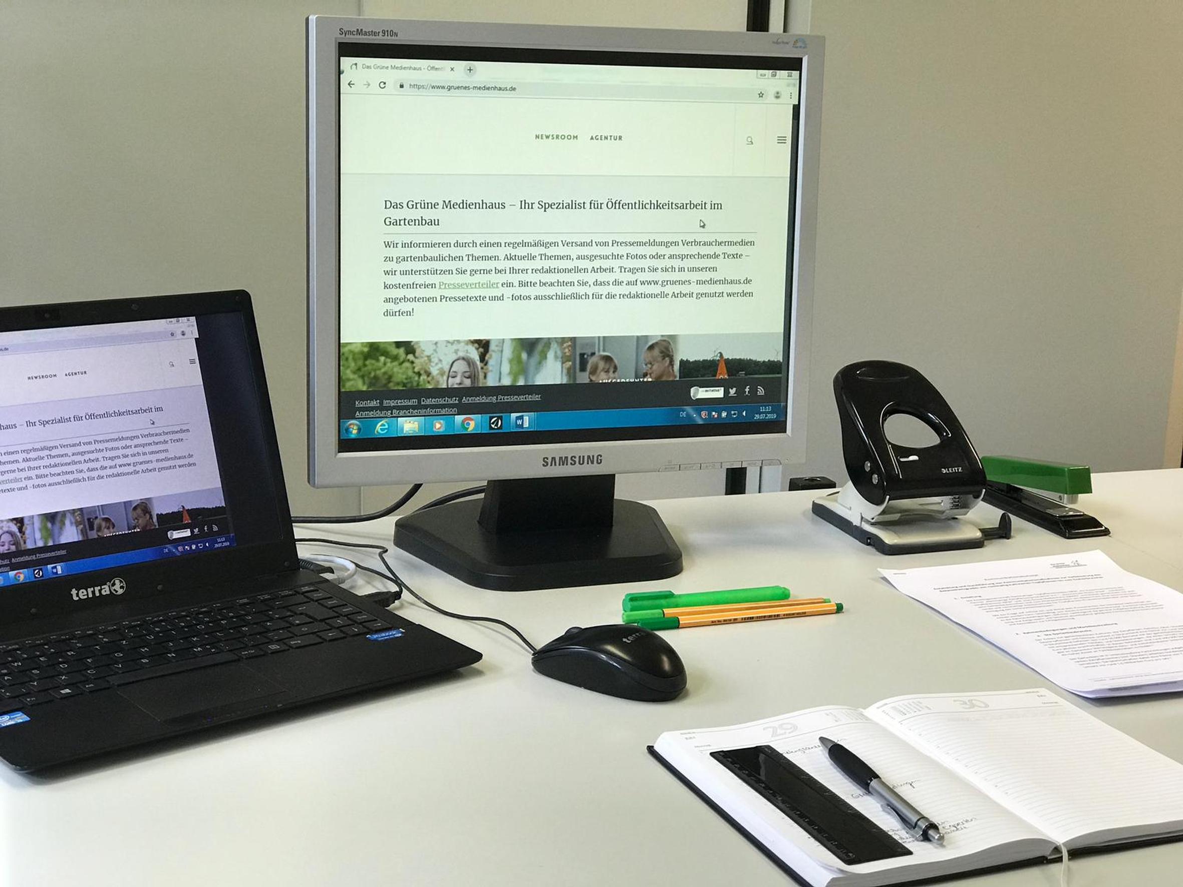 Abwechslungsreich, interessant und kreativ – mein Praktikum im Grünen Medienhaus