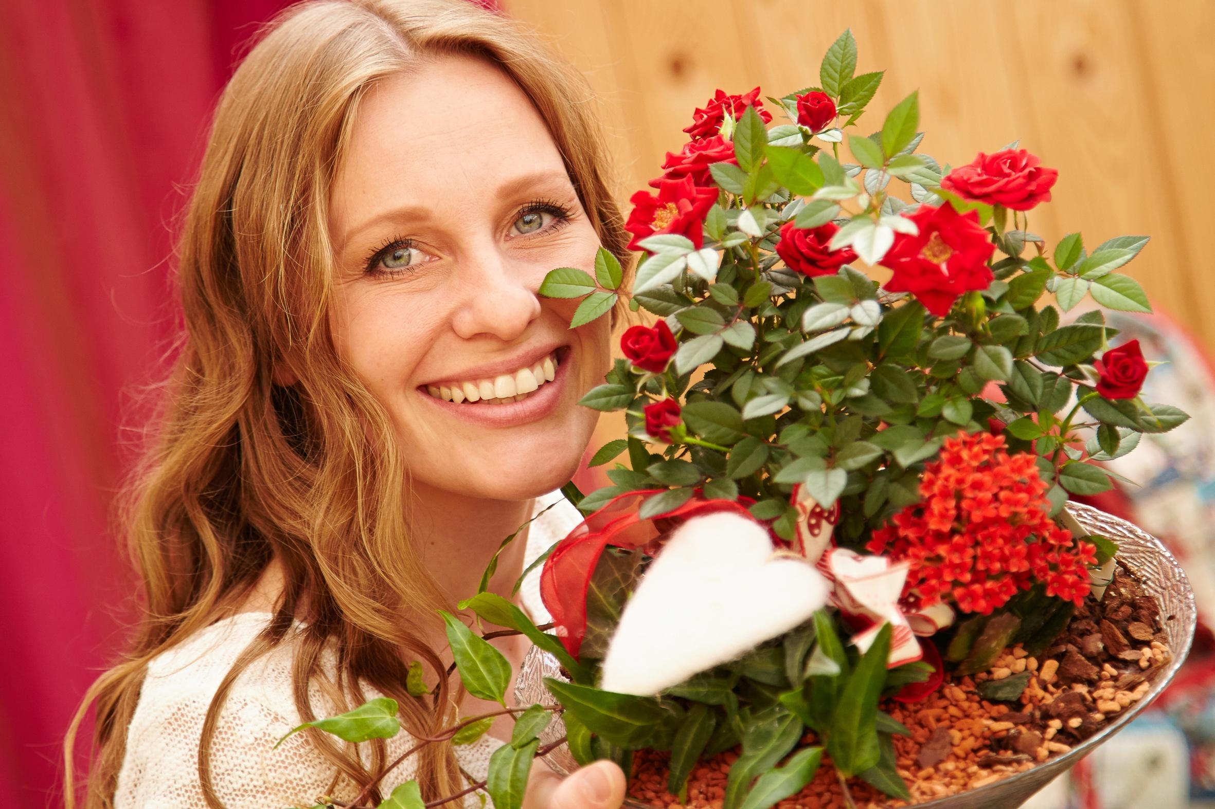 Mit Liebe schenken – Valentinsblumen aus dem Fachhandel