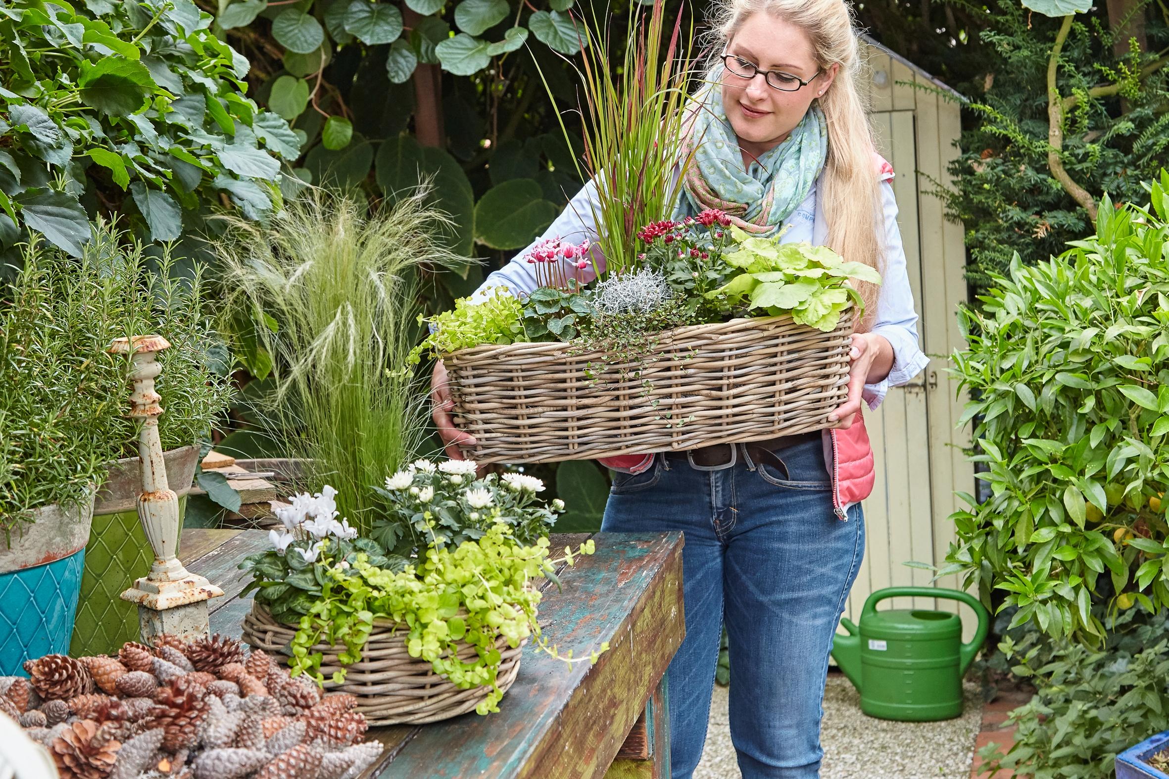 Energie für die Seele und den Körper: Den Garten im Herbst noch einmal so richtig genießen
