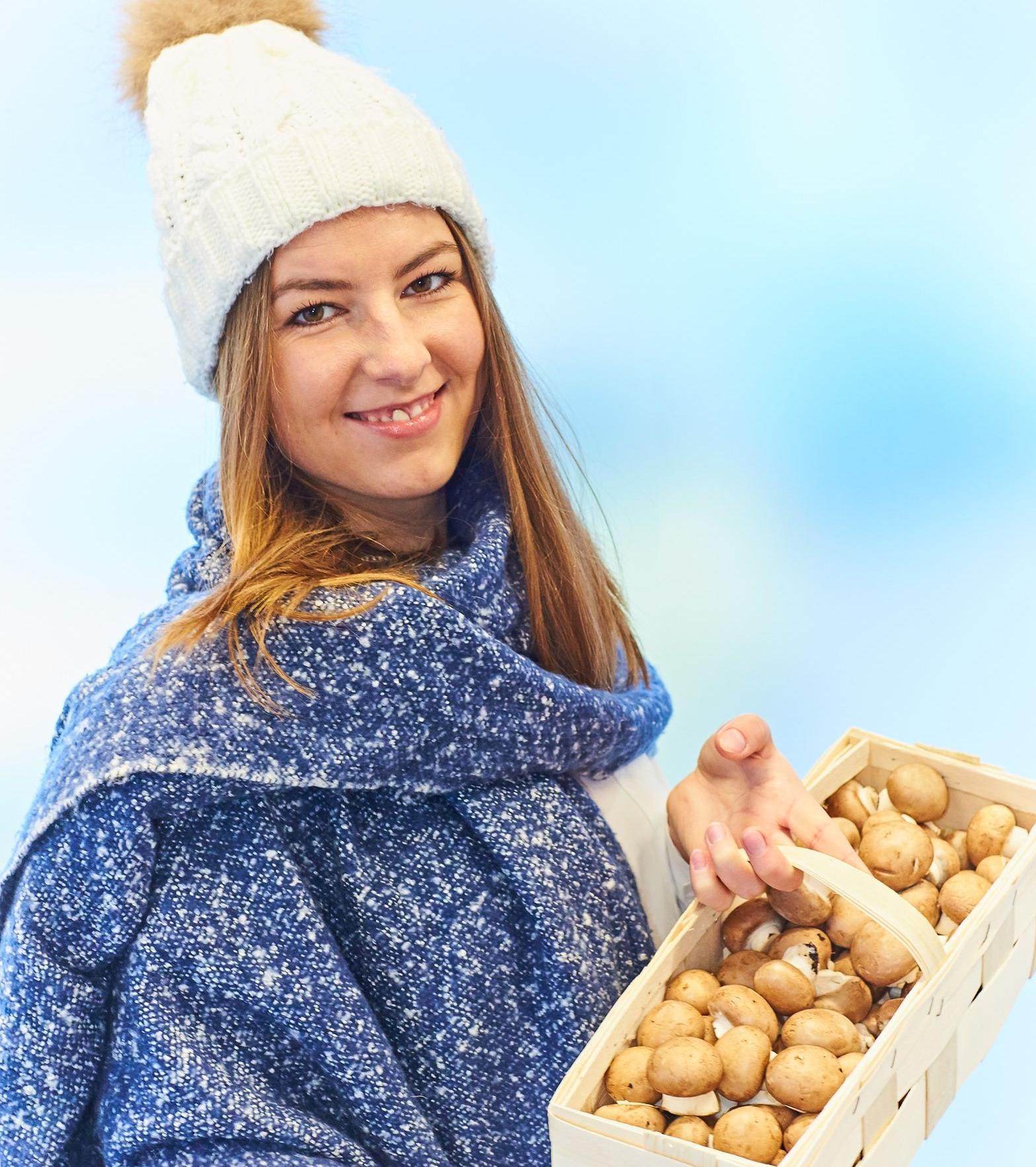 Pilze und Vitamin D