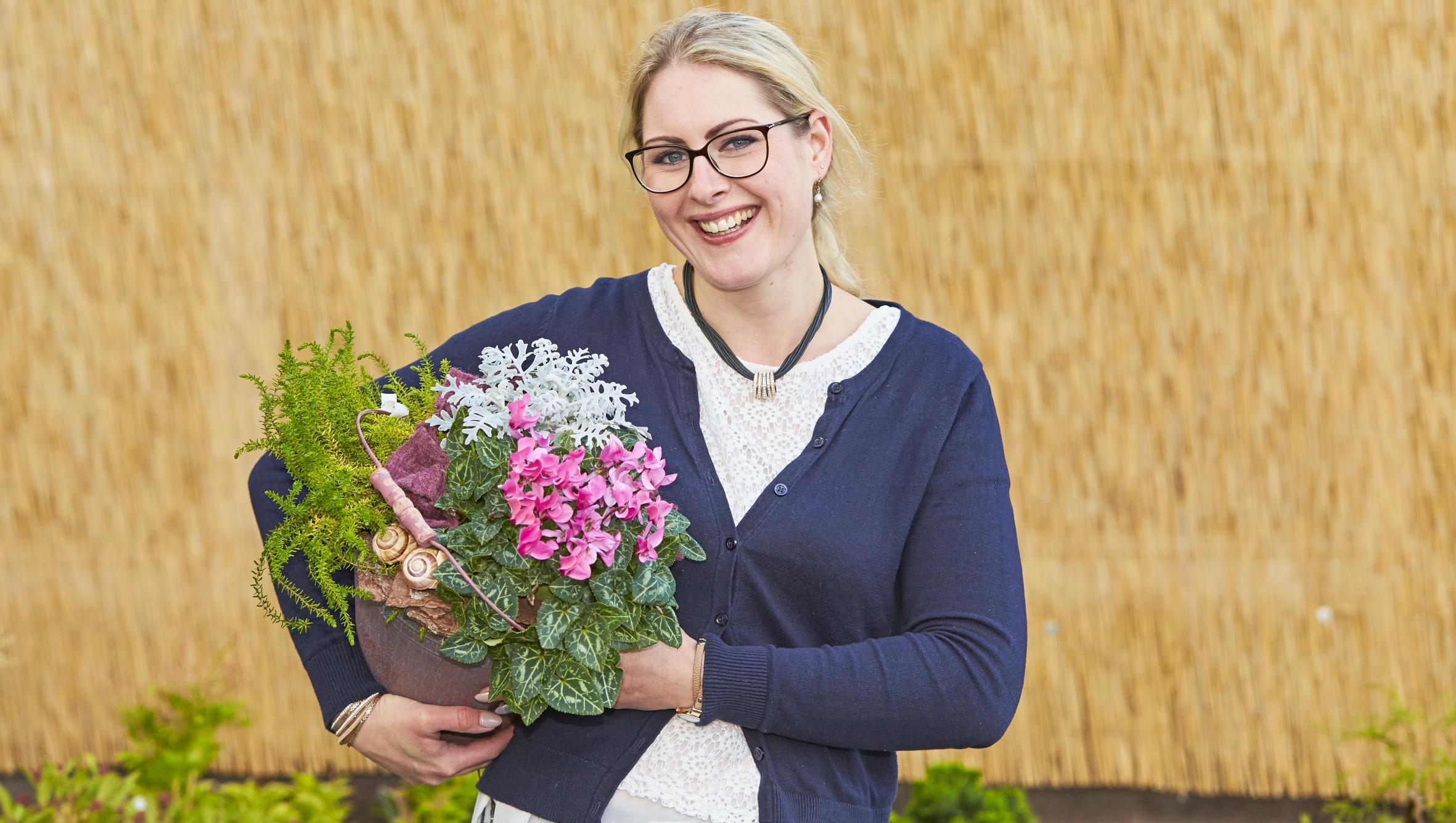 Herbstliche Freuden: Blumen und Pflanzen zaubern immer ein Lächeln ins Gesicht